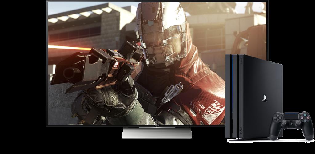 PS4 Pro 4k