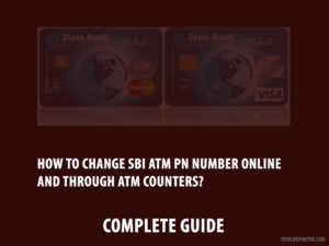 How to change SBI ATM Pin Number