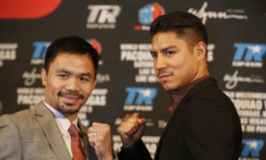 Manny Pacquiao returns to fight against Jessie Vargas on November 5th
