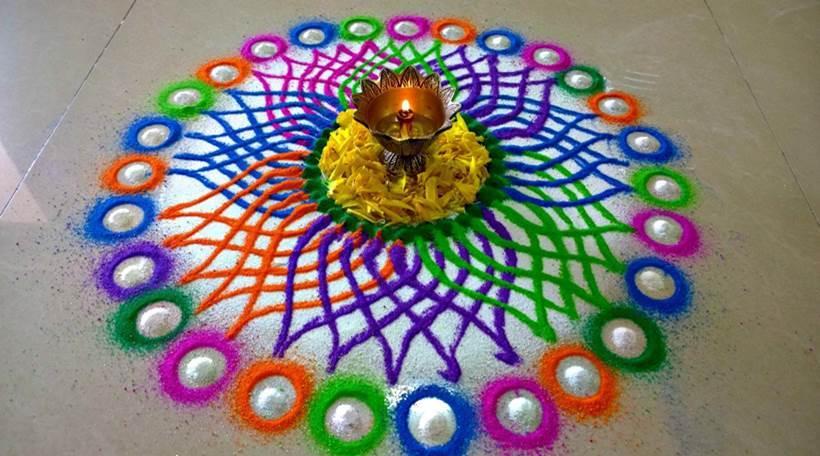 Diwali 2017 rangoli designs
