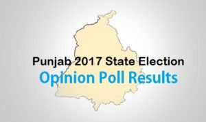 Punjab 2017 State Election Opinion Poll Results