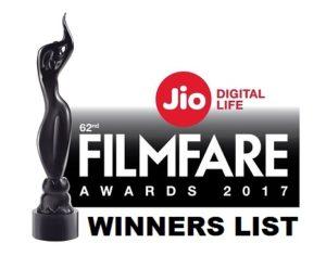 Winners of Filmfare Awards 2017