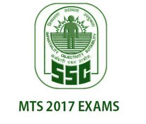 Online Registration for SSC MTS 2017 Examination
