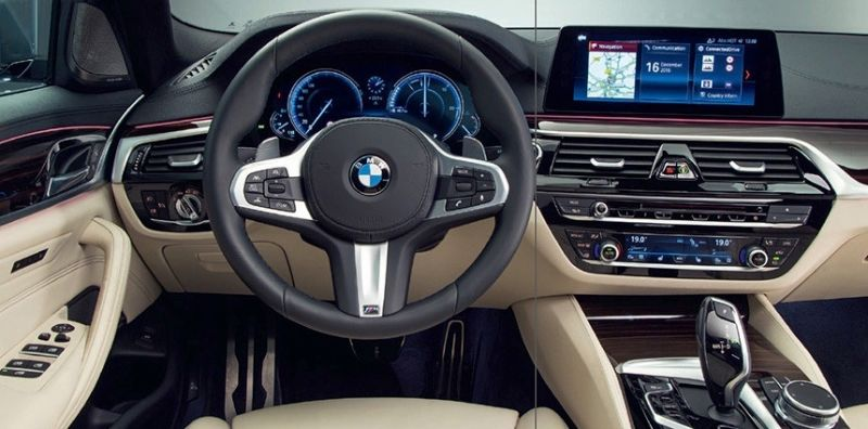 7th Generation BMW 5 Series interior