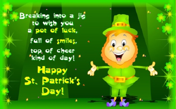 St Patricks wishes