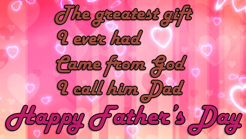 Fathers day 2018 wishes