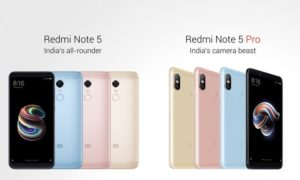Xiaomi Redmi Note 5 and Note 5 Pro Specifications, Price and Release Date