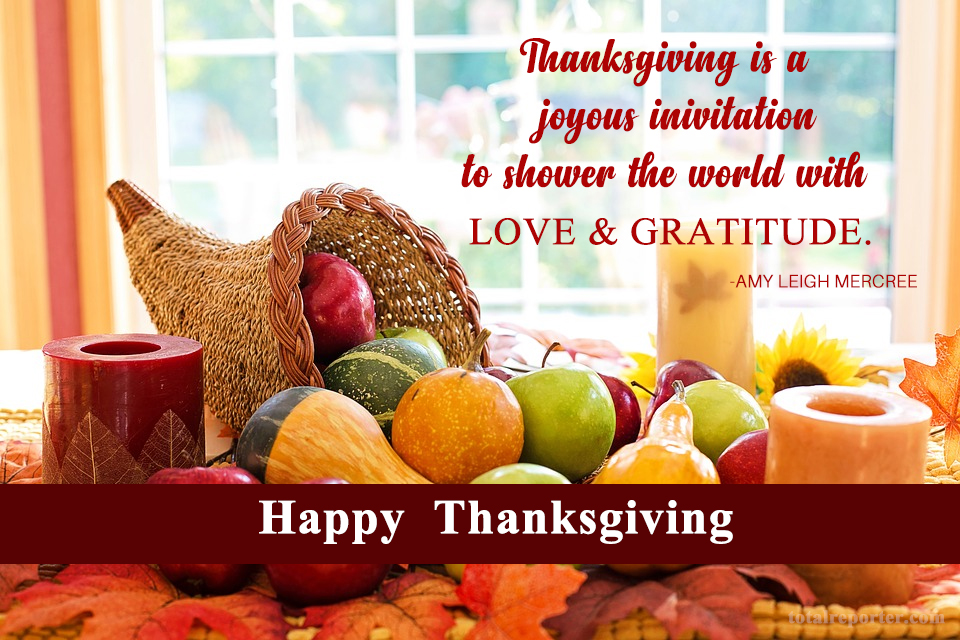 happy thanksgiving day wishes 2018