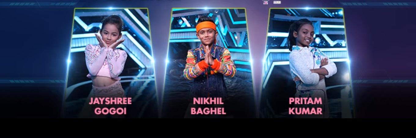 Contestants of Super Dancer 3