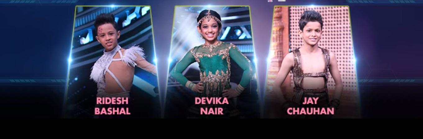 Super Dancer Chapter 3 Contestants