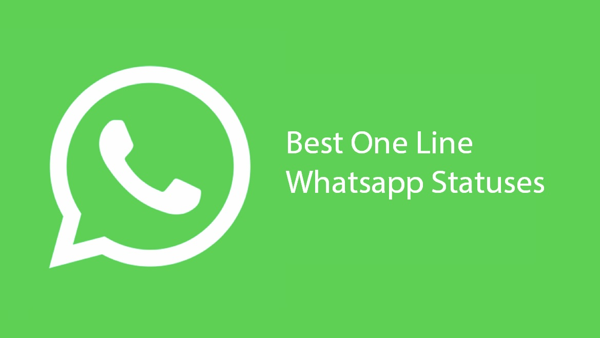 One line whatsapp statuses