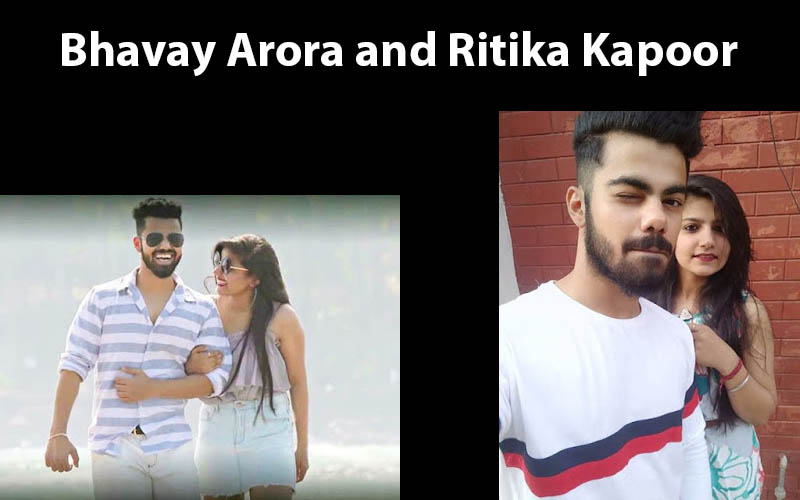 Bhavay Arora and Ritika Kapoor love school 4