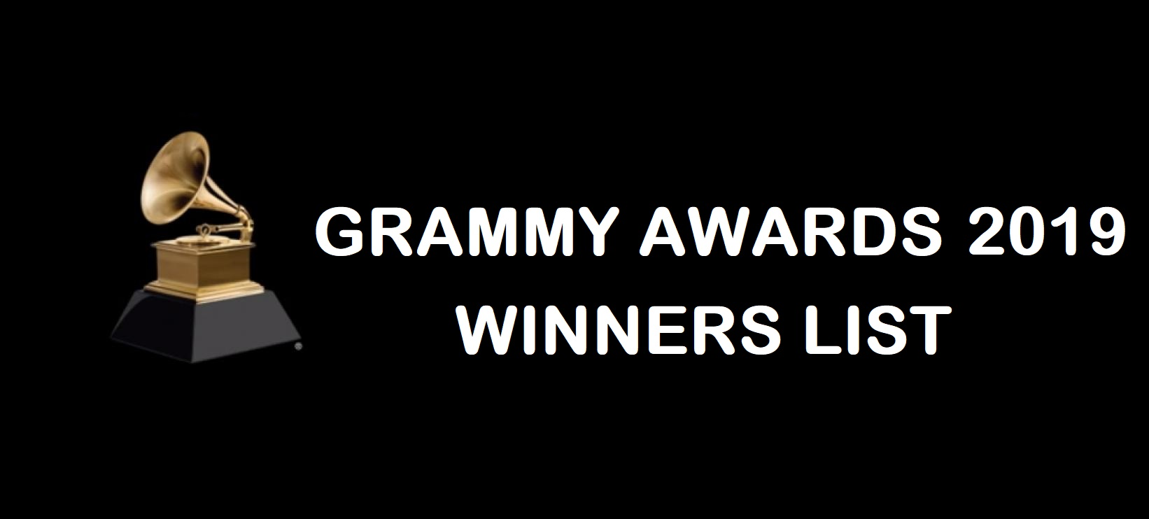 Grammys 2019 Winners List