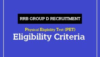 RRB pet eligibility criteria