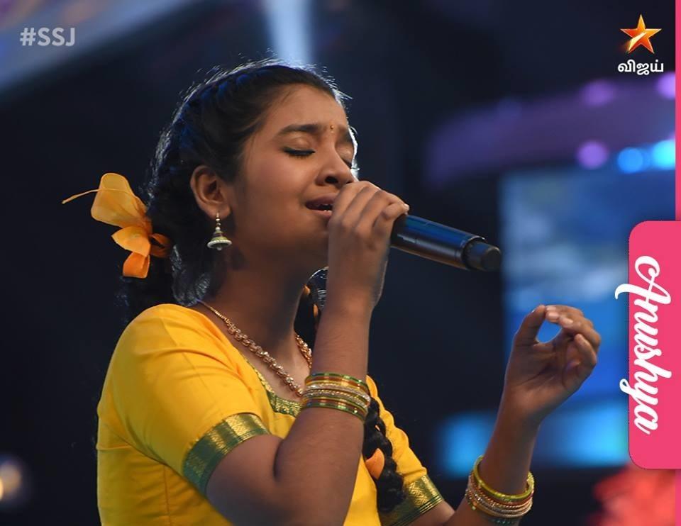 Anushya - Super Singer 6 Junior Finalist