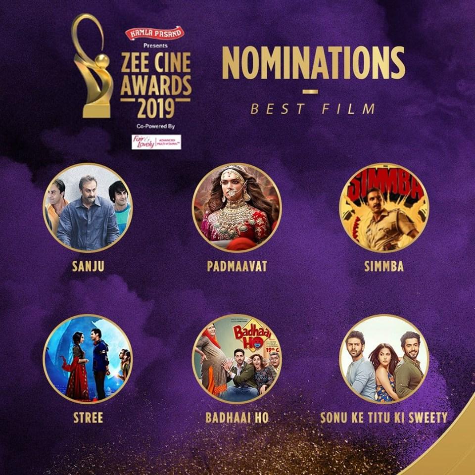Best Film Nominations