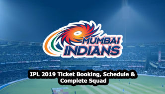 Mumbai Indians IPL 2019 Ticket booking, schedule and squad