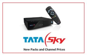 Tata Sky New Packs and Channel Prices