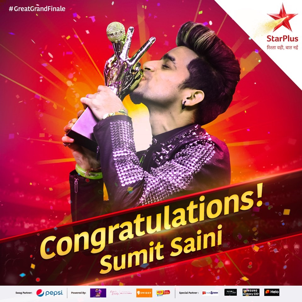 Sumit Saini - Winner of The Voice India 2019