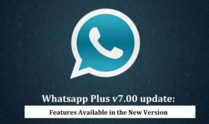 Whatsapp Plus v7.00 Update