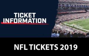 NFL Tickets 2019 buy online