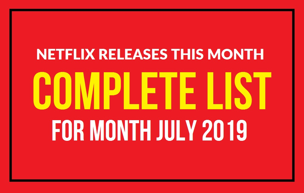 Netflix releases this month