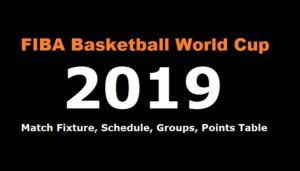 FIBA Basketball World Cup 2019 Schedule, Fixture, Groups and Points Table