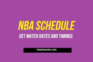 NBA Schedule 2019-20 Season